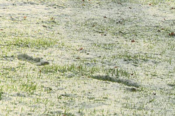 La neige est tombée en Normandie ce 4 décembre 2020