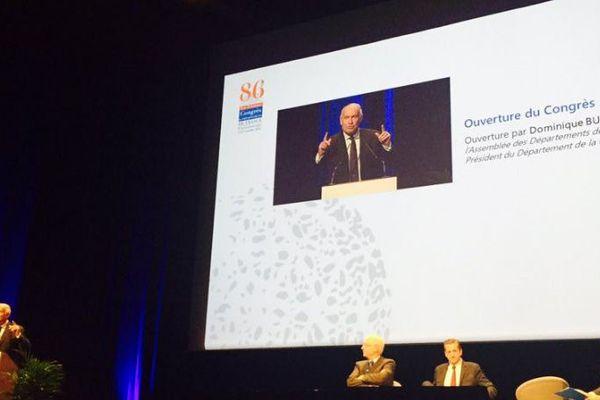 Le congrès de l'Assemblée des départements de France a lieu jusqu'au vendredi 7 octobre au Futuroscope.