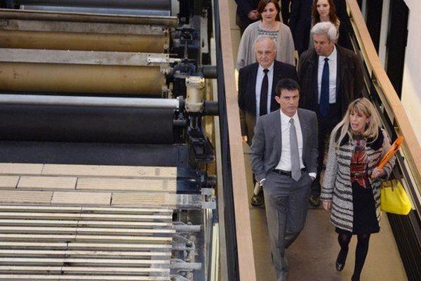 De nombreuses personnalités ont visité La Papeterie, dont le Premier ministre Manuel Valls en mars 2015.