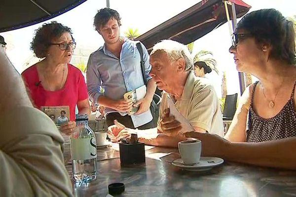 Maria Giudicelli et Mathieu Larédo, candidats aux législatives dans la 1ère circonscription de Corse-du-Sud