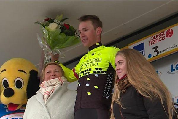 Le Suisse Fabian Lienhard a remporté ce lundi la première étape du 38e Tour de Normandie