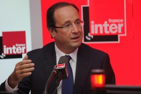 François Hollande confirme au micro de nos confrères de France Inter le début des travaux du transfert de l'aéroport à Notre-Dame-des-Landes après l'épuisement des recours