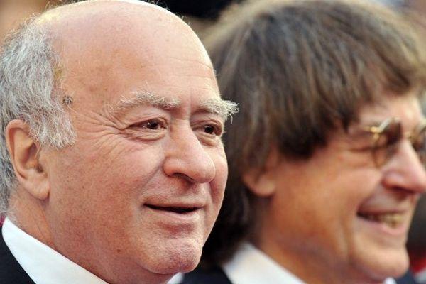 Wolinski et Cabu en 2008 à Cannes