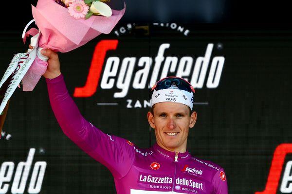Le sprinteur beauvaisien a endossé le maillot du classement par points (meilleur sprinteur) du Tour d'Italie, ce mercredi 22 mai.