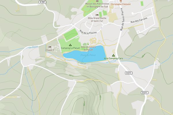 L'étang du Paluet va servir à alimenter la Baize