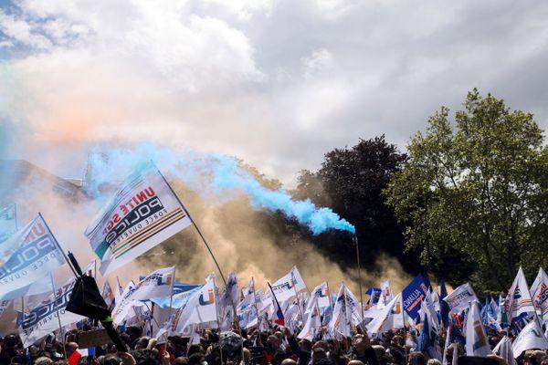 Selon les organisateurs, environ 35 000 personnes ont pris part à l'événement.