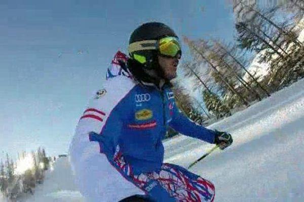 Cyprien Sarrazin, équipe de France de ski