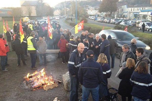 Le mouvement de grève est reparti, mercredi matin, après une trêve de quatre jours.