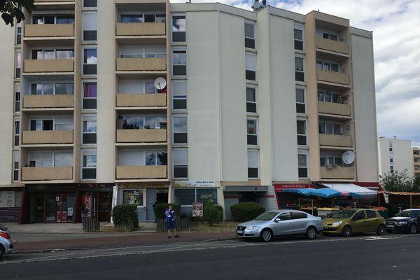 Le boulevard de Presles à Soissons à l'endroit précis où la victime était stationnée.
