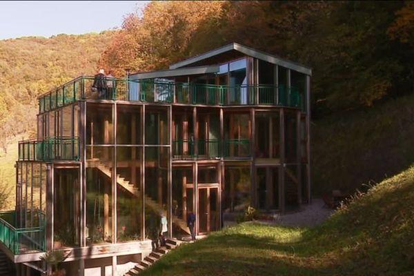 La maison de l'architecte bisontin Marcel Baty