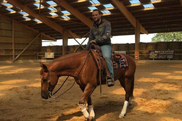 VOST : Jeffrey Touroute-Thomas, l'étoile montante du reining