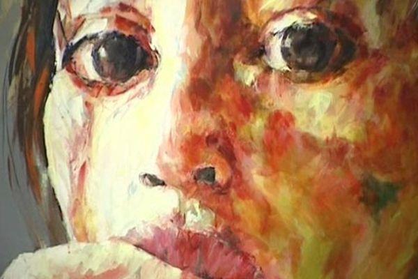Autoportrait au couteau de Peggy Viallat-Langlois