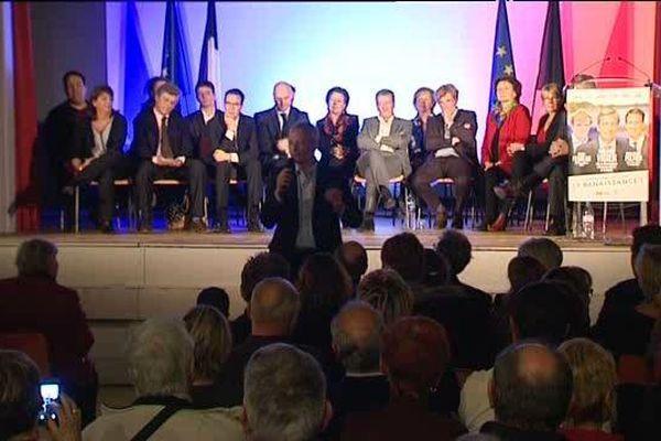 Meeting d'Union de la droite à Blois - 30 nov 2015