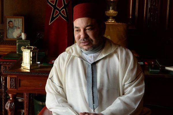 Le roi du Maroc Mohammed VI à Rabat en juin 2015.