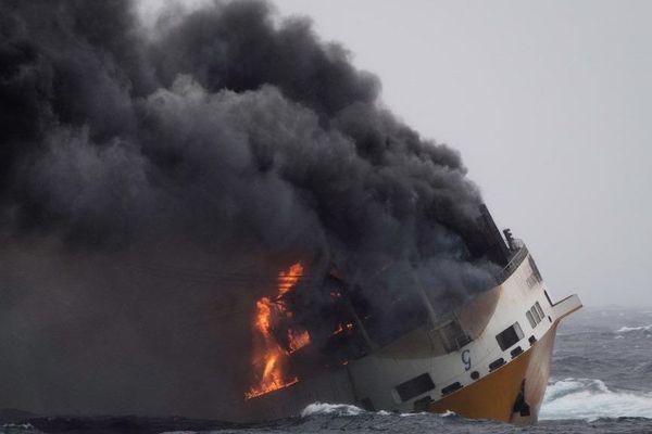 Le Grande America a coulé par 4 600m de fond à 330 kilomètres à l'ouest des côtes françaises le 12 mars 2019