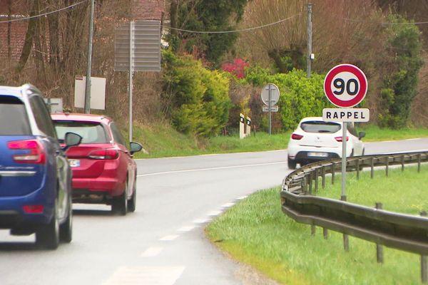 La préfecture n'a accordé la possibilité du retour aux 90 km/h que sur 13 axes principaux des départementales de la Dordogne