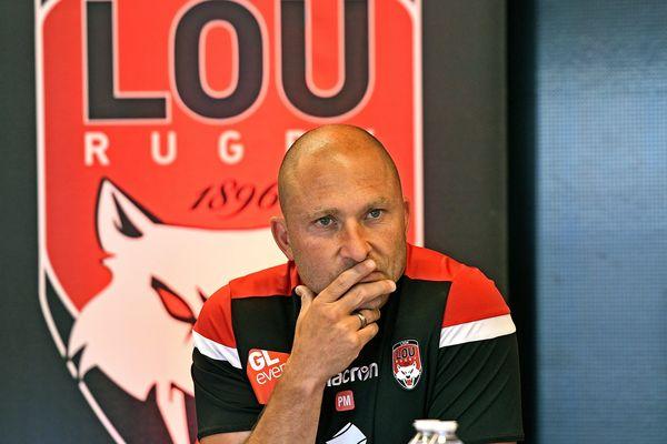 Pierre Mignoni, l'entraîneur du Lou Rugby, compte bien commencer l'année 2021 avec des victoires.