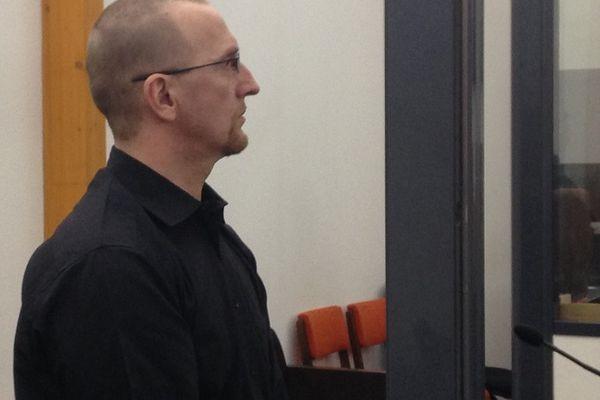 Raoul Reymann lors de son procès