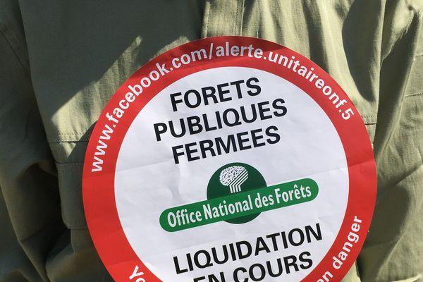 """""""Forêts publiques fermées"""" : une action menée par l'intersyndicale de l'ONF"""