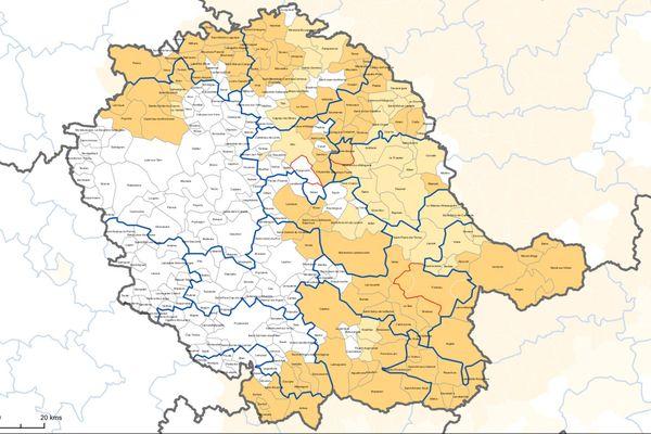 36 % de la population du Tarn est potentiellement exposée au radon.