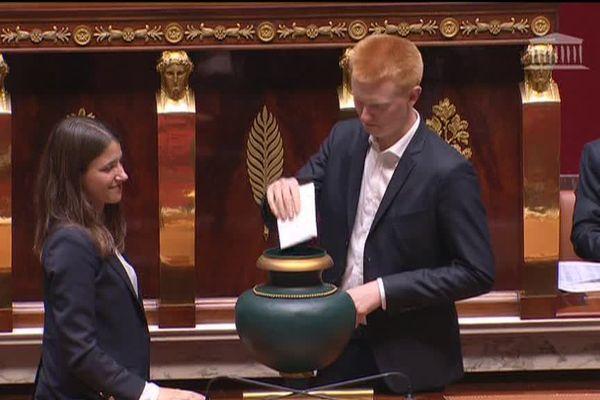 Le vote pour l'élection du président de l'Assemblée.