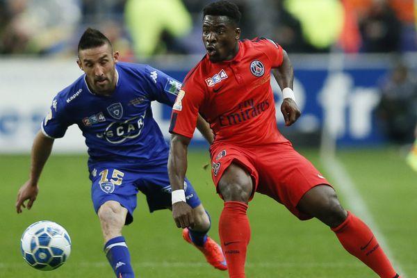 Face au PSG, le SC Bastia pourra compter sur le retour de Palmieri, auteur d'un doublé lors de la victoire des Bastiais face à Paris la saison dernière (4-2).
