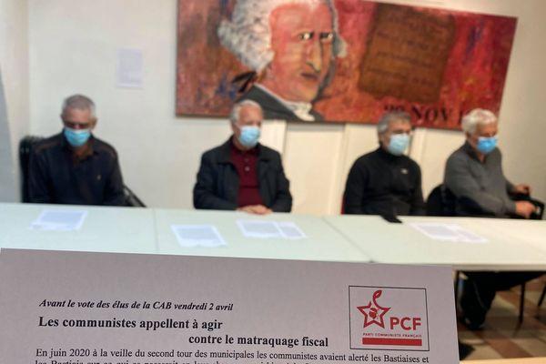 Le PCF appellent les Bastiais à se mobiliser contre la hausse de la fiscalité