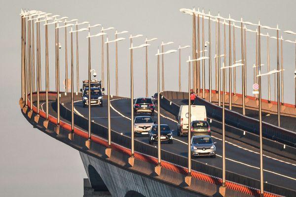 Le Pont de l'Île-de-Ré totalement bloqué à la suite de deux accidents