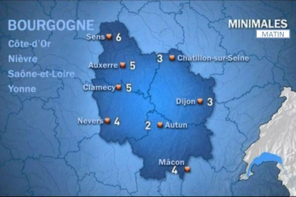 Les prévisions de Météo France mardi 20 octobre matin