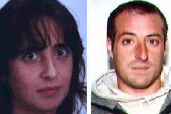 Iratxe Sorzabal Diaz et David Pla, dans des photos non datées publiées par la police en 2009 et 2010