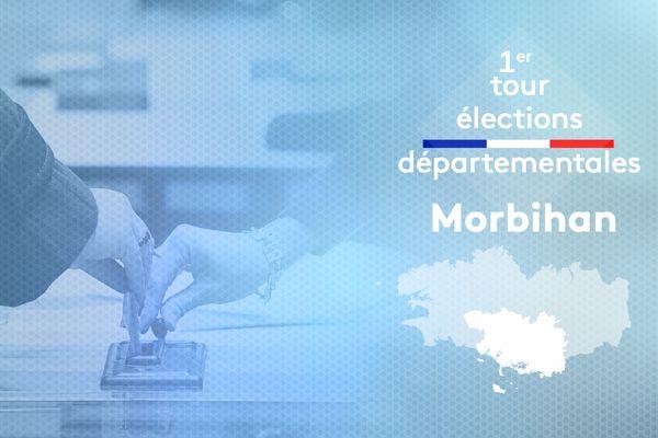 1er tour des élections départementales dans le Morbihan