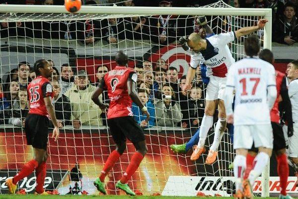 Guingamp-PSG : 1-1 le 25 janvier 2014