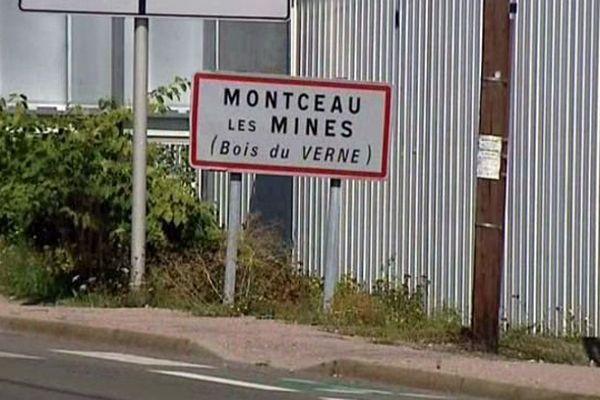 La ville de Montceau-lès-Mines, en Saône-et-Loire