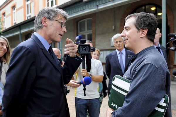 Vincent Peillon à Toulouse le lundi 24 août pour le lancement de l'ESPE.