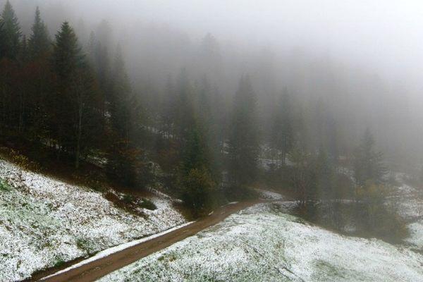 Neige à Ventron