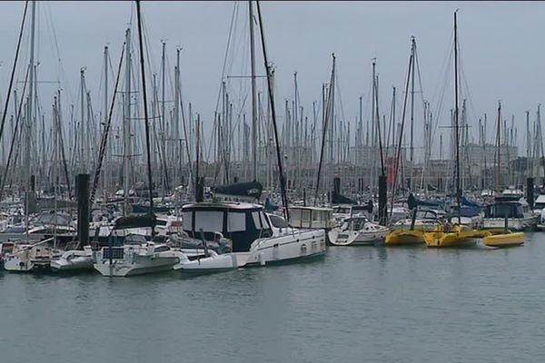 Le port de la Rochelle compte 5 000 anneaux d'amarrage.
