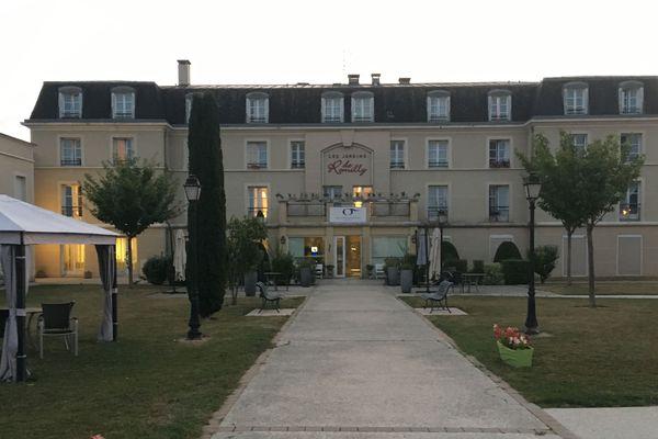 Dans cette maison de retraite de Romilly-sur-Seine, deux personnes ont été retrouvées mortes aux alentours de 18h15 mardi 14 août
