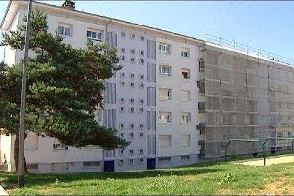 L'immeuble où a eu lieu la défenestration