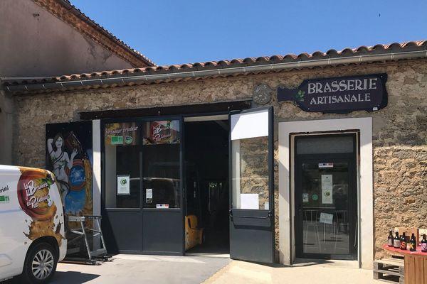 Brasserie artisanale à Saint-Christol dans l'Hérault