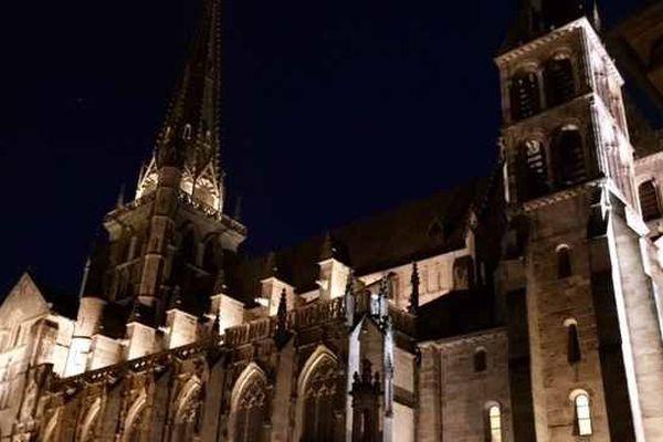 La cathédrale d'Autun en Saône-et-Loire