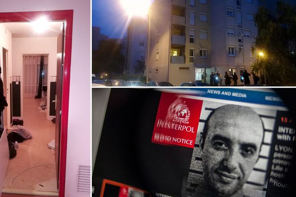 Redoine Faïd, l'homme le plus recherché de France a été arrêté dans la nuit du mardi au mercredi 3 octobre dans l'appartement à gauche