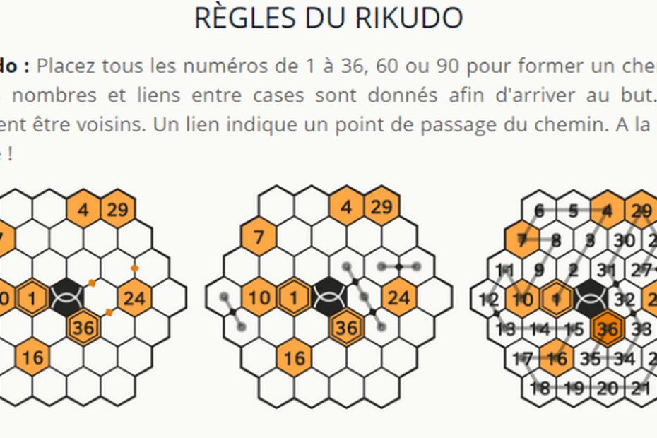 Le Rikudo, nouveau jeu en ligne de l'été de deux chercheurs de Palaiseau