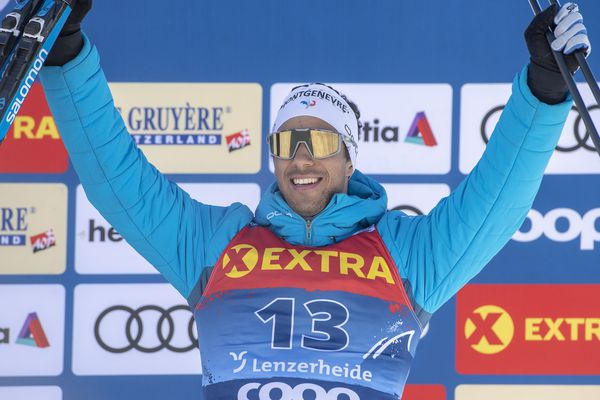 Richard Jouve décroche la 3ème place sur le podium