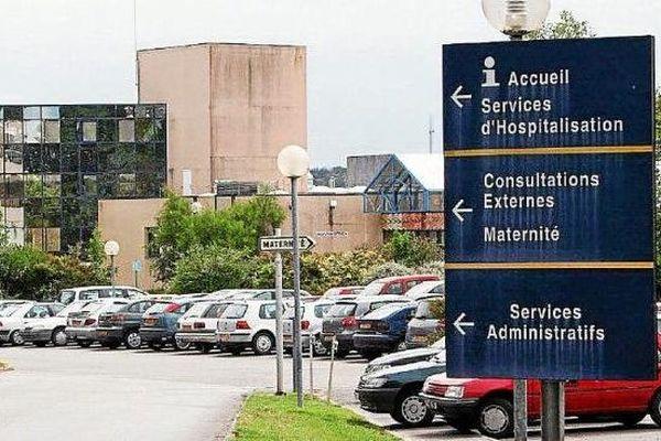 L'hôpital de Quimperlé, où exerçait Joël Le Scouarnec en 2006 (illustration).