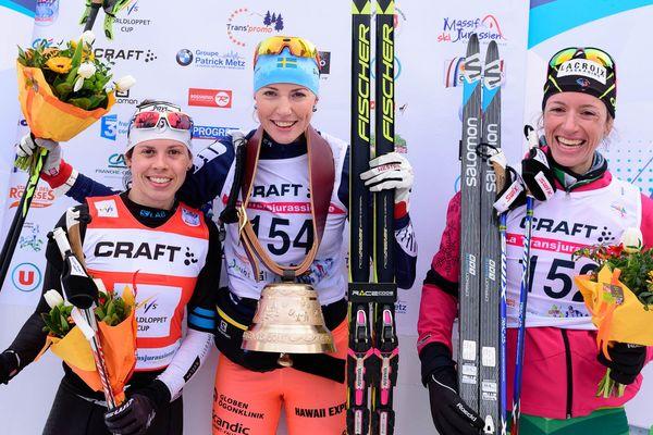 Maria GRAEFNINGS l'emporte devant Aurélie DABUDYK et Aurore JEAN