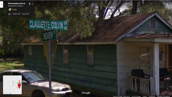 Claudette Colvin Drive, Montgomery USA