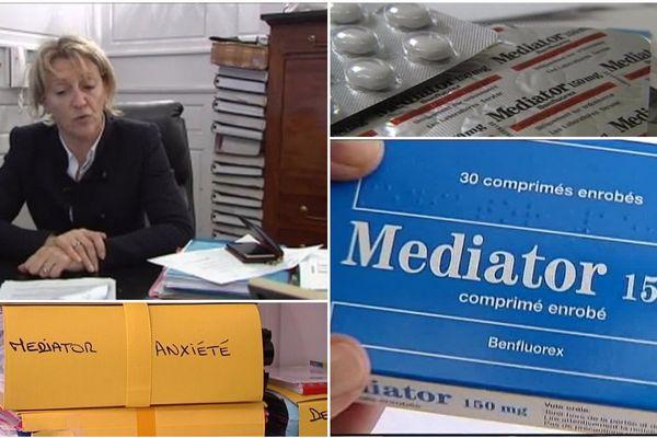 Maître Martine Verdier, avocat au barreau d'Orléans. Conseil des des victimes du médiator, médicament du groupe Servier (Loiret).