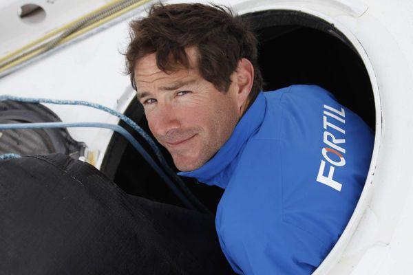 Le skipper Clément Giraud, candidat au Vendée Globe 2020
