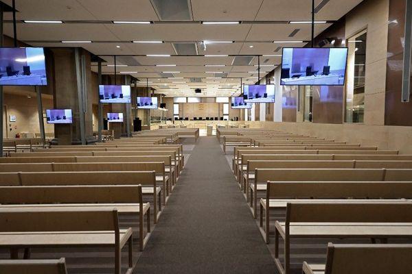 Le procès des attentats du 13 novembre 2015 se tiendra dans cette toute nouvelle salle d'audience.