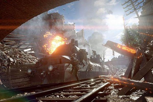 Dans Battlefield 1, le centre d'Amiens se transforme en champs de bataille le temps d'une mission.
